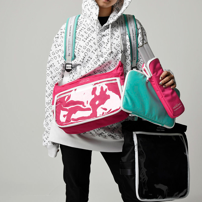 TAKALAKA 痛 SHOULDER BAG【PINK】