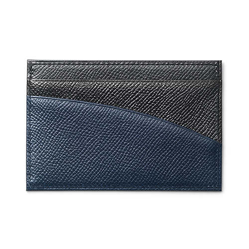 Card Holder(Black-Navy)「カードケース(ブラック—ネイビー)」