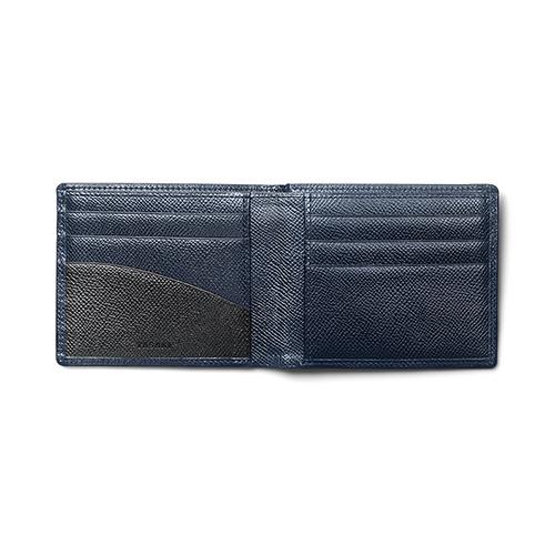 Bi-fold Wallet(Navy)「2つ折り財布(ネイビー)」