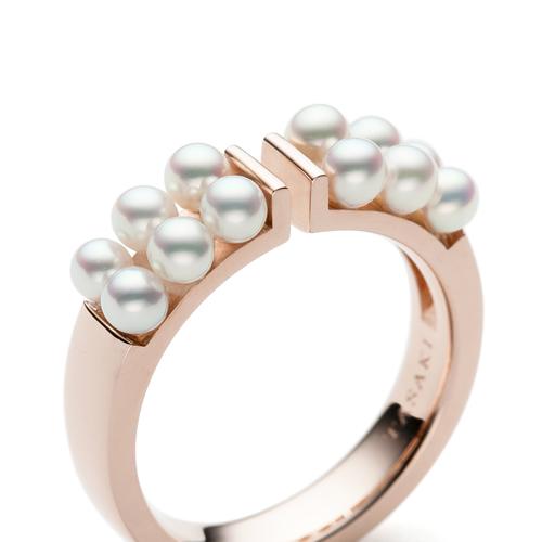 petit pearl リング