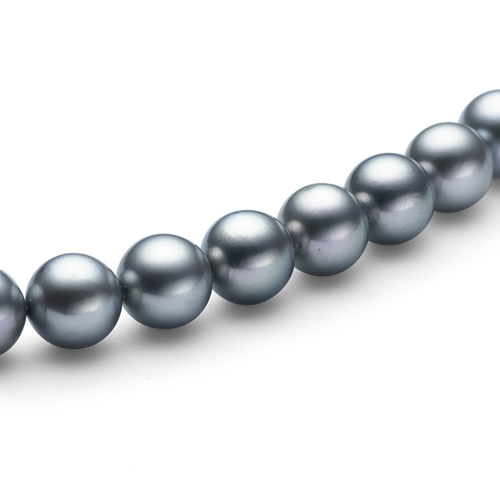 あこや真珠 チョーカー ネックレス(7.5mmブルー珠)