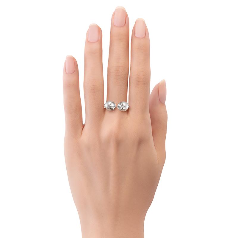 リファインドリベリオン シグネチャー ダイヤモンド リング