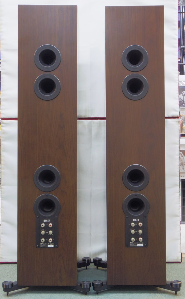 展示品:KEF  R900(ウォールナット)(展示品)(小キズあり)