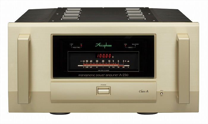 Accuphase   A-250(モノラルパワーアンプ)(1台)2017年4月25日 新発売