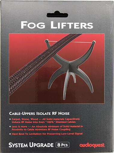 audio quest/  Fog Lifters(ケーブル・インシュレーター)(8個1組) 2020年1月下旬)