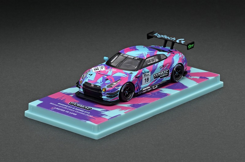 T64-005-LOR 1/64 Nissan GTR Nismo GT3 Winner of Legion of Racers X Tarmac Works Livery Contest