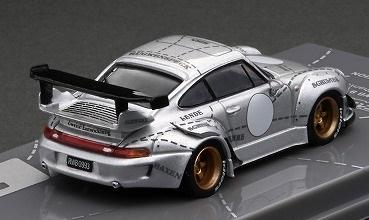 【WEB限定モデル】 T64-017-JC 1/64 RWB993 Silver Phantom  ※China Special Edition