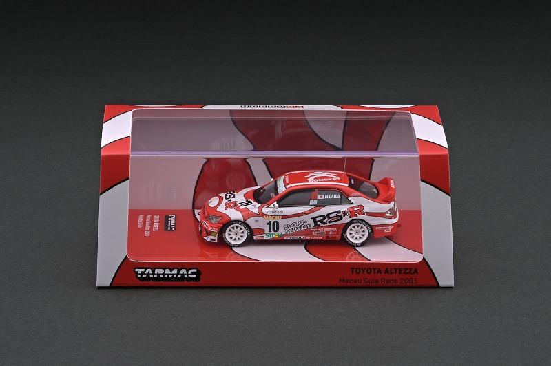 T64-019-01MGP10 1/64 Toyota Altezza Macau Guia Race 2001