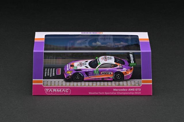 T64-008-19WSC33 1/64 Mercedes-AMG GT3 WeatherTech SportsCar Championship 2019
