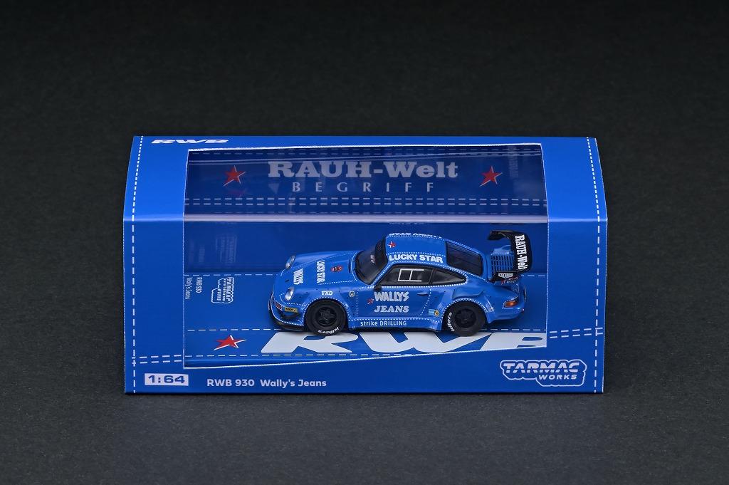 T64-015-WJ 1/64 RWB 930 Welly's Jeans