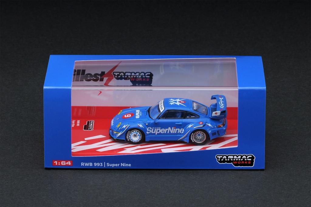 T64-017-HK 1/64 RWB 993 Super Nine