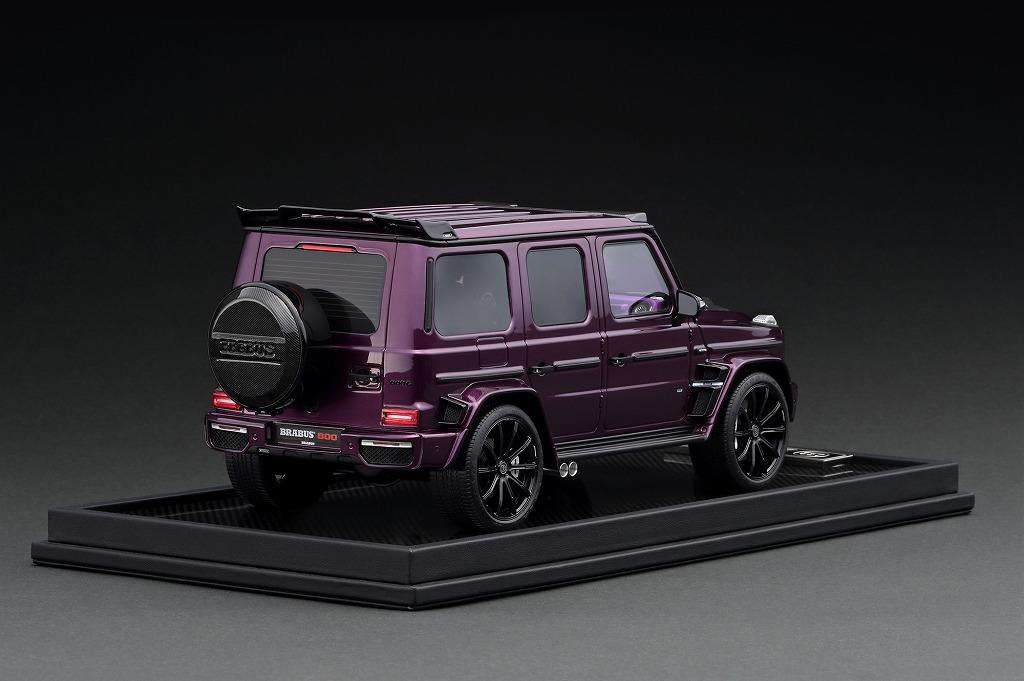 TK-MH020PU 1/18 BRABUS 800 Purple