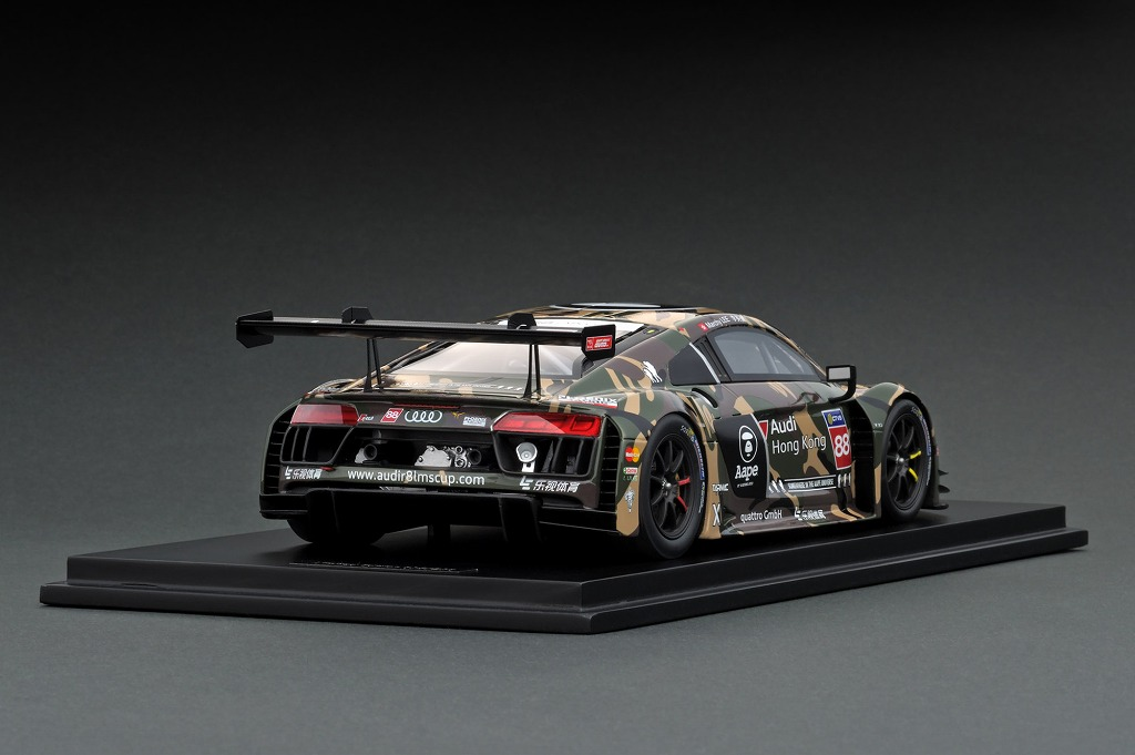 T18-004-CUP16GRN 1/18 Audi R8 LMS Cup 2016 Taiwan Round AAPE / Audi HK