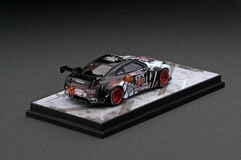 KJ64002BG 1/64 LBWK Nissan GT-R R35 Belgium GTR store edition
