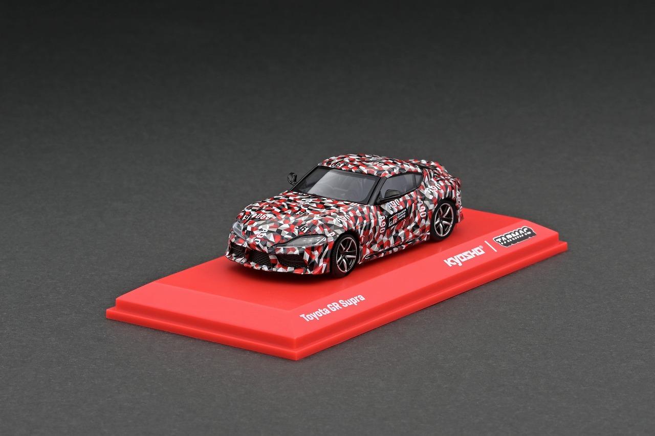 T64K-002-TEST 1/64 Toyota GR Supra TEST CAR