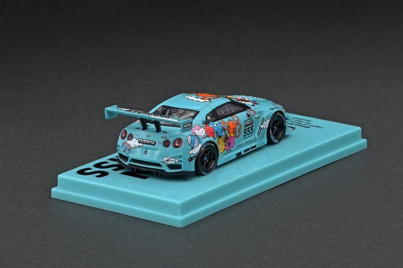 T64-005-MR 1/64 Nissan GT-R Nismo GT3 Legion of Racers 2020 Overall Champion
