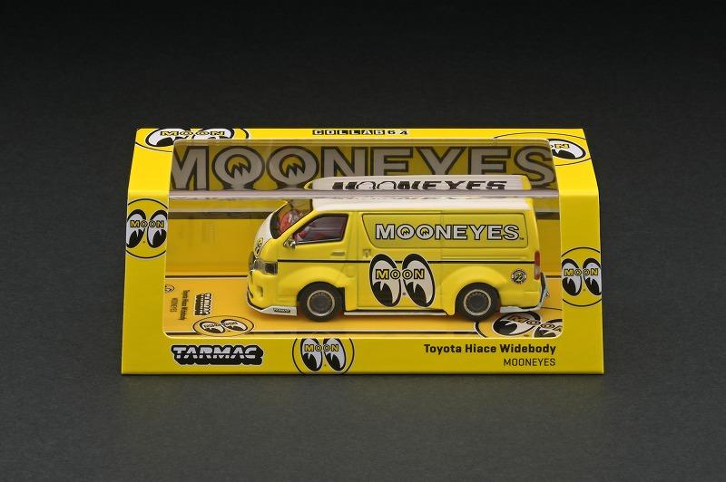 T64-038-ME 1/64 Toyota Hiace Widebody Mooneyes