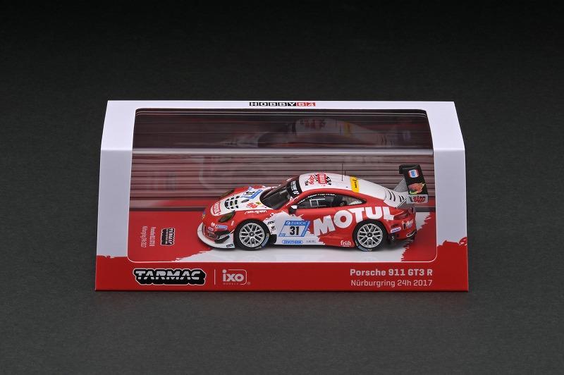 T64-032-17NUR31 1/64 Porsche 911 GT3 (991) Nurburgring 24h 2017