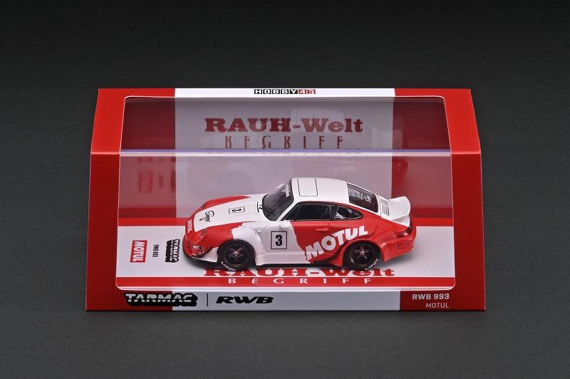 T43-014-MO 1/43 RWB 993 Motul