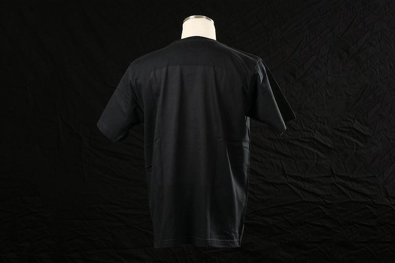 ROWEN SEVEN Tシャツ (ブラック×シルバー)