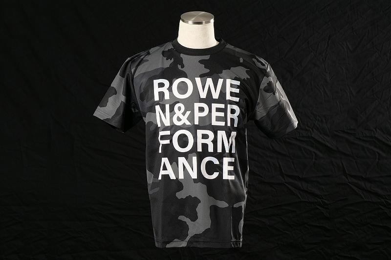 ROWEN&PERFORMANCE Tシャツ (カモフラブラック)