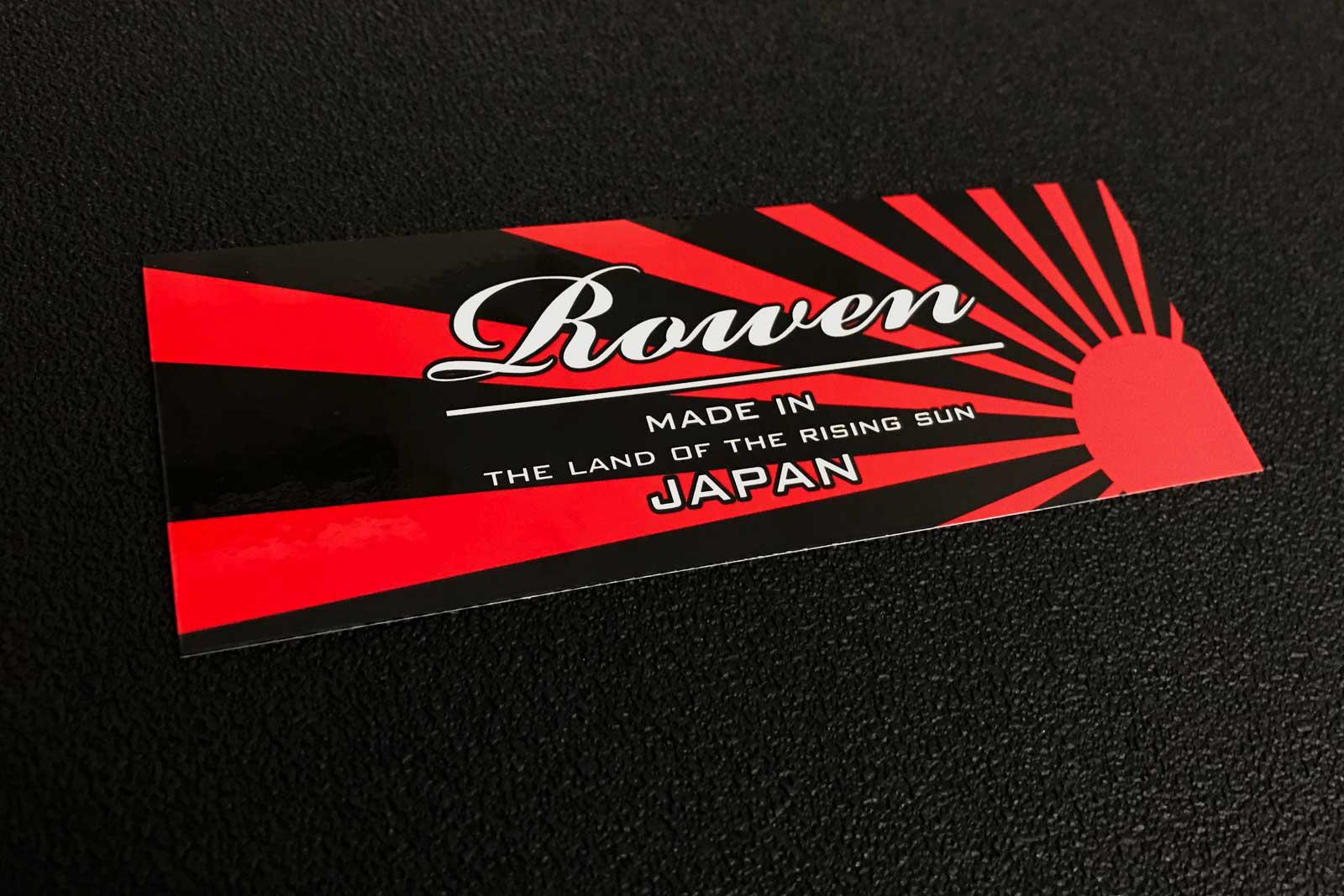 Rowen Rising Sunステッカー