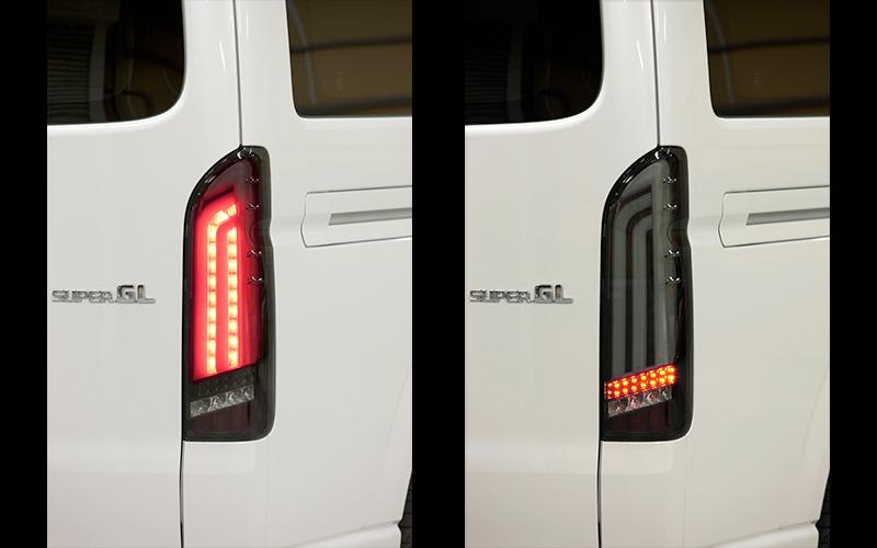 ハイエース200系用 LED BRILLIANT TAILLAMP