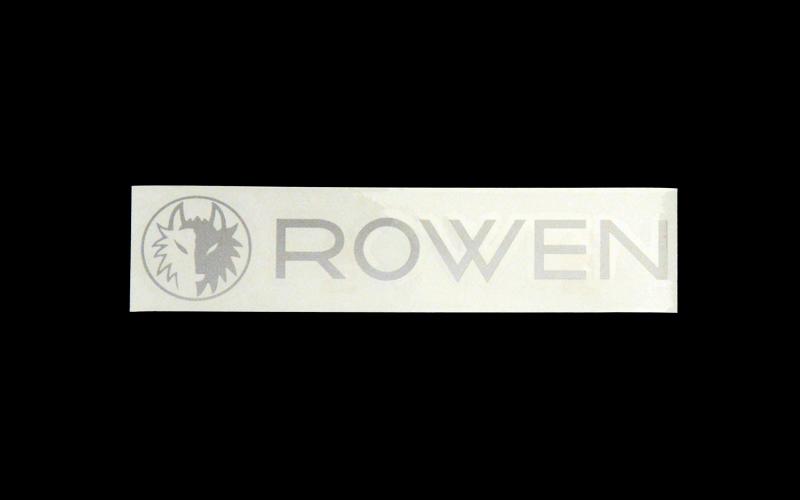 ROWEN ステッカー*ブロック体 ver2