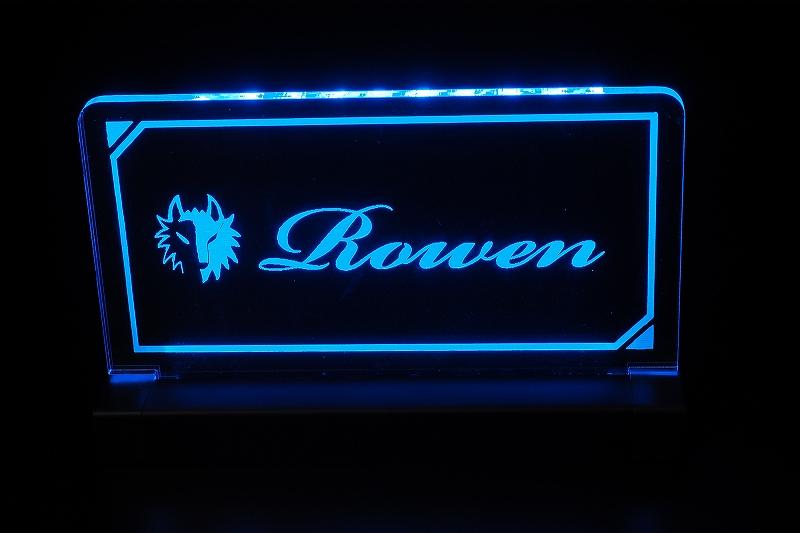 ROWEN LEDアクリルスタンド