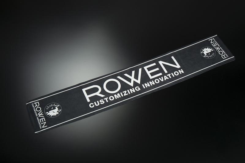 ROWEN マフラータオル (ブラック)