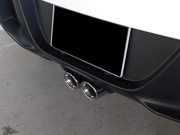 HONDA S660 JW5用 純正バンパー対応 2本出しマフラー ※競技用