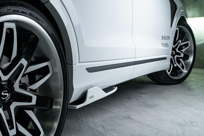 AUDI Q8  フロントフェンダーエクステンション