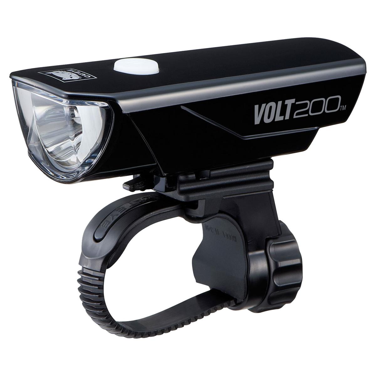 キャットアイ HL-EL151RC VOLT200 ボルト200 自転車 ライト ブラック キャットアイ ライト キャットアイ USB充電 ロードバイク クロスバイク ミニベロ