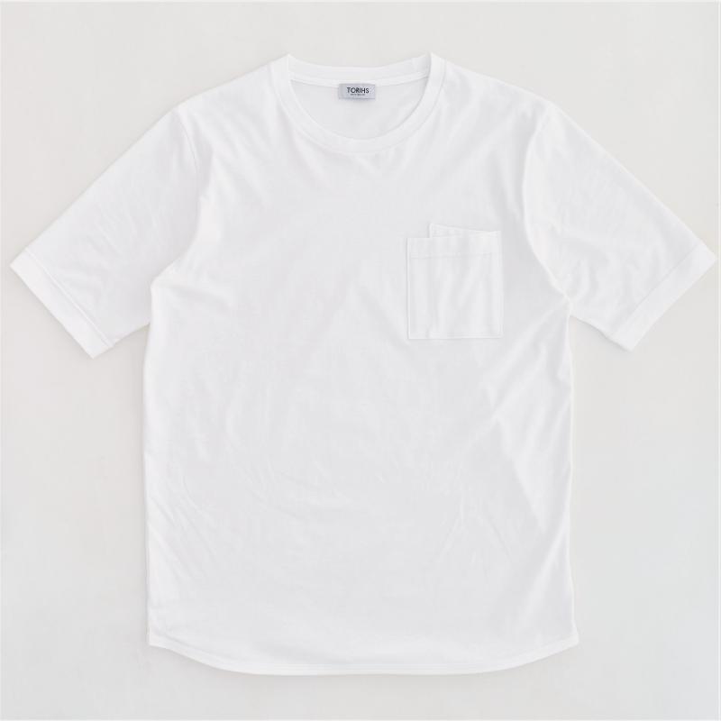 【ユーティリTシャツ】オーガニックコットン強撚天竺 クルーネック