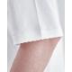 【乳首が気にならない白T】Albiniスムース ダブルフロントフットボールT