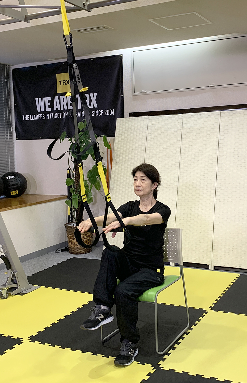TRX介護予防運動プログラム