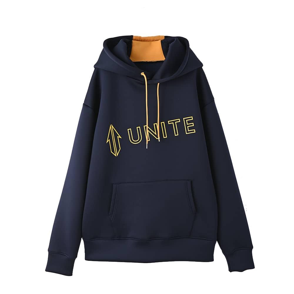 【UNITE】Diagonal Logo Hoodie