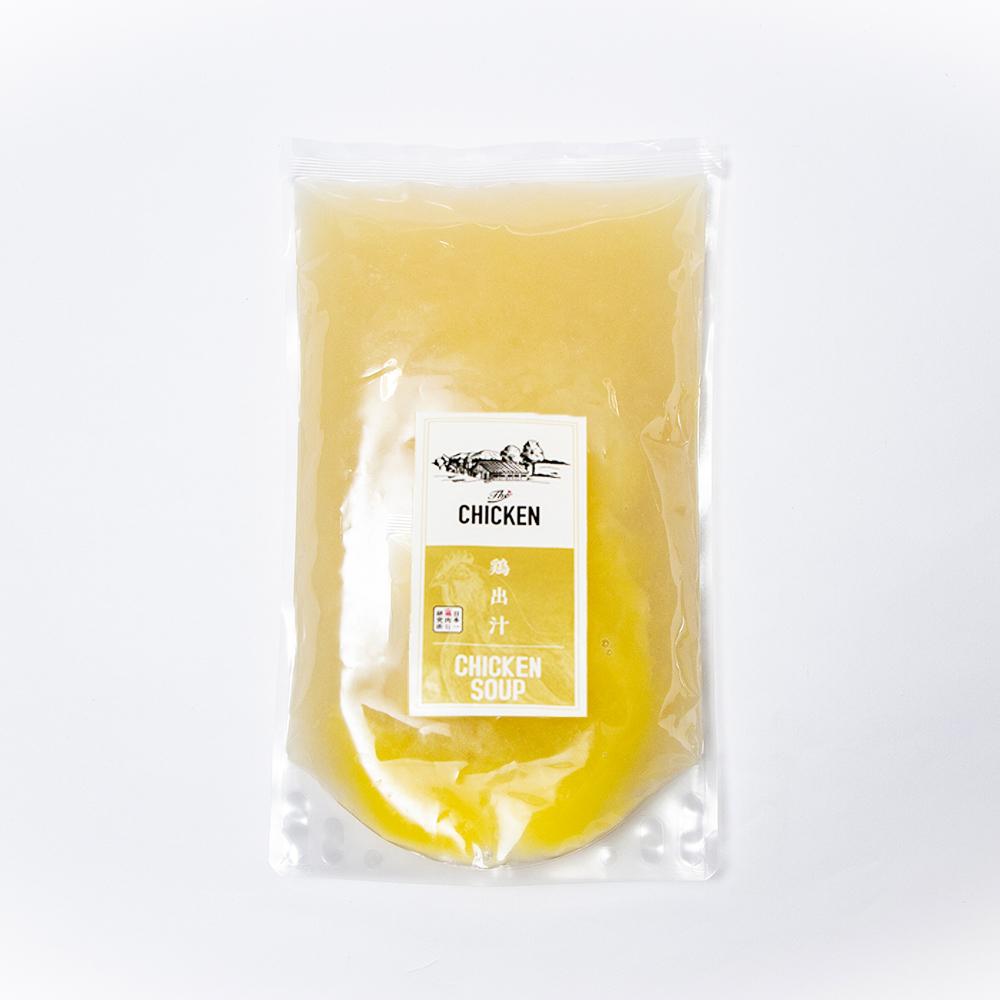 鶏ガラ100%の濃厚スープの水炊きお試しセット 1人用
