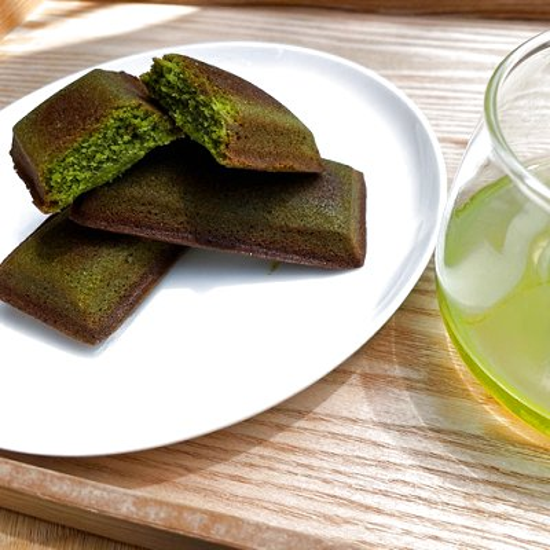 【送料無料】「ゆたかみどり」新茶と抹茶フィナンシェ ギフトセット