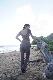 【10/9 再入荷】ワッフルポケットパンツ To the sea