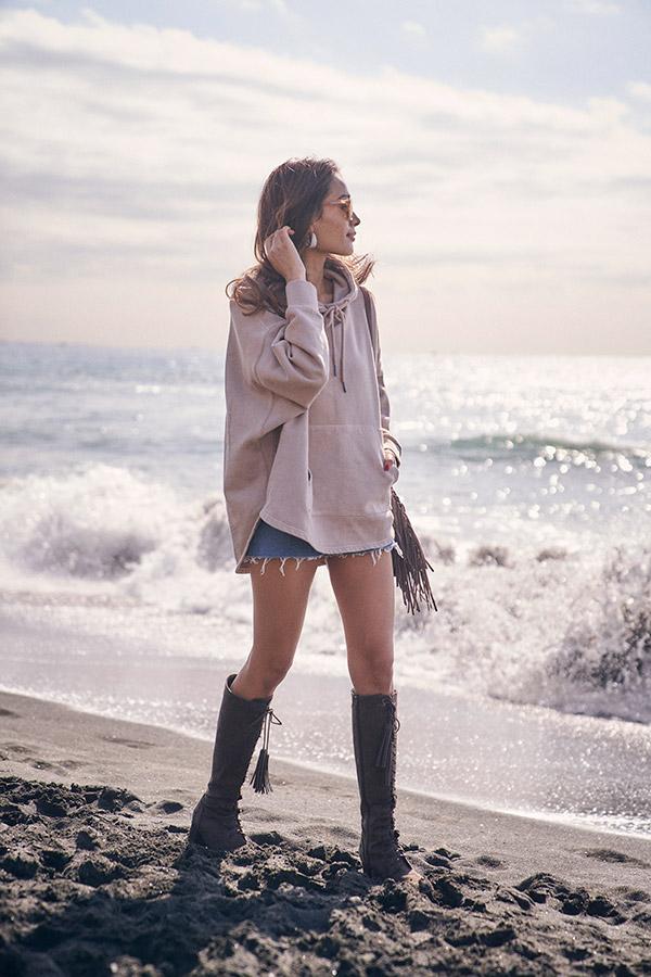 【11/20 NEW!】スウェットドルマンパーカー To the sea