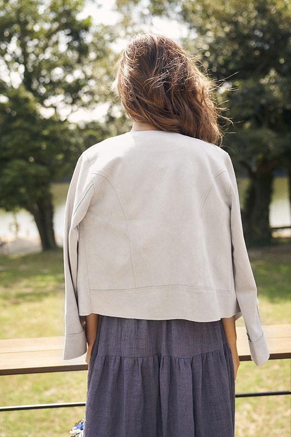【9/29 NEW!】スウェードポンチライダースジャケット To the sea