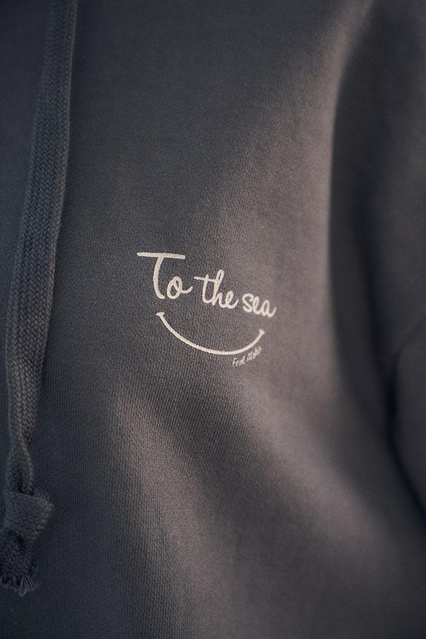 【10/16 NEW!新色&再入荷!10月下旬お届け】フロントスマイルフーディ To the sea