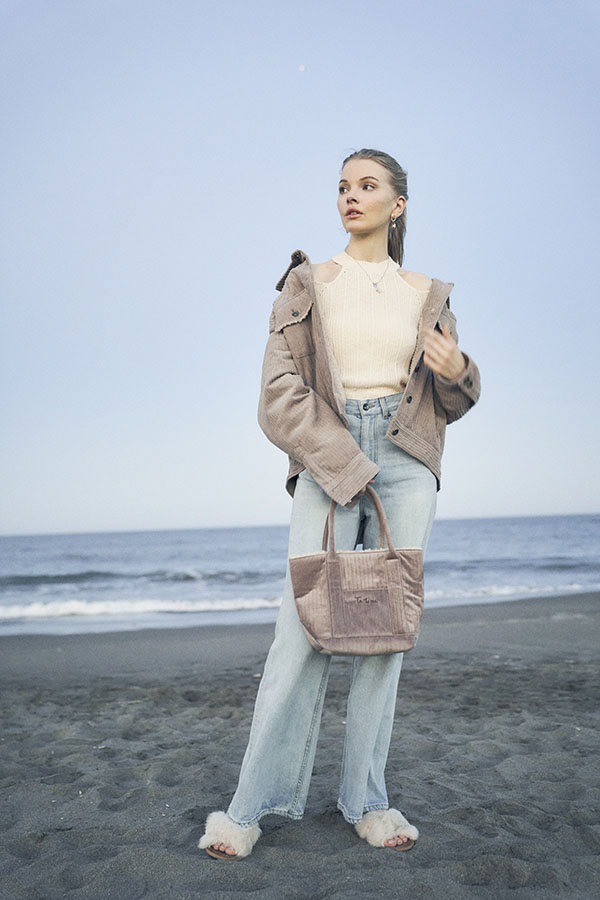【10/14 NEW!】ランダムコーデュロイボアジャケット To the sea