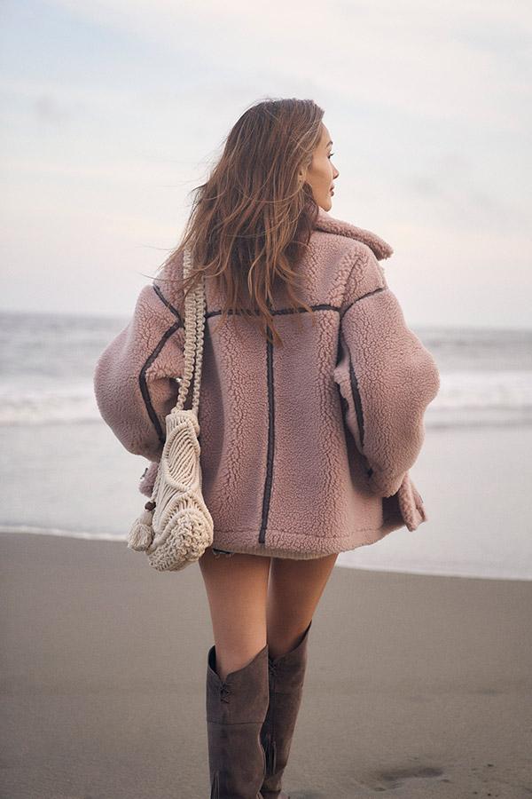 ボアフライトジャケット To the sea