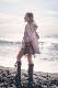 コンチョフリンジ巾着バック To tha sea
