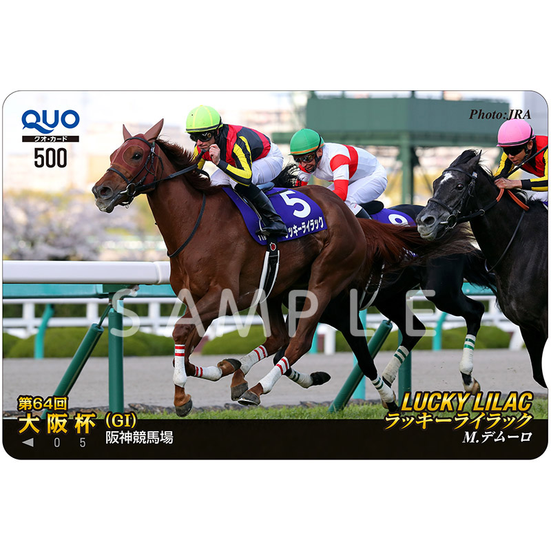 クオカ2020大阪杯【ラッキーライラック】