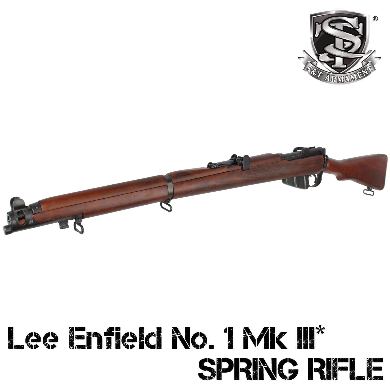 【5月以降入荷予約】S&T Lee Enfield No. 1 Mk III* エアーコッキングライフル リアルウッド