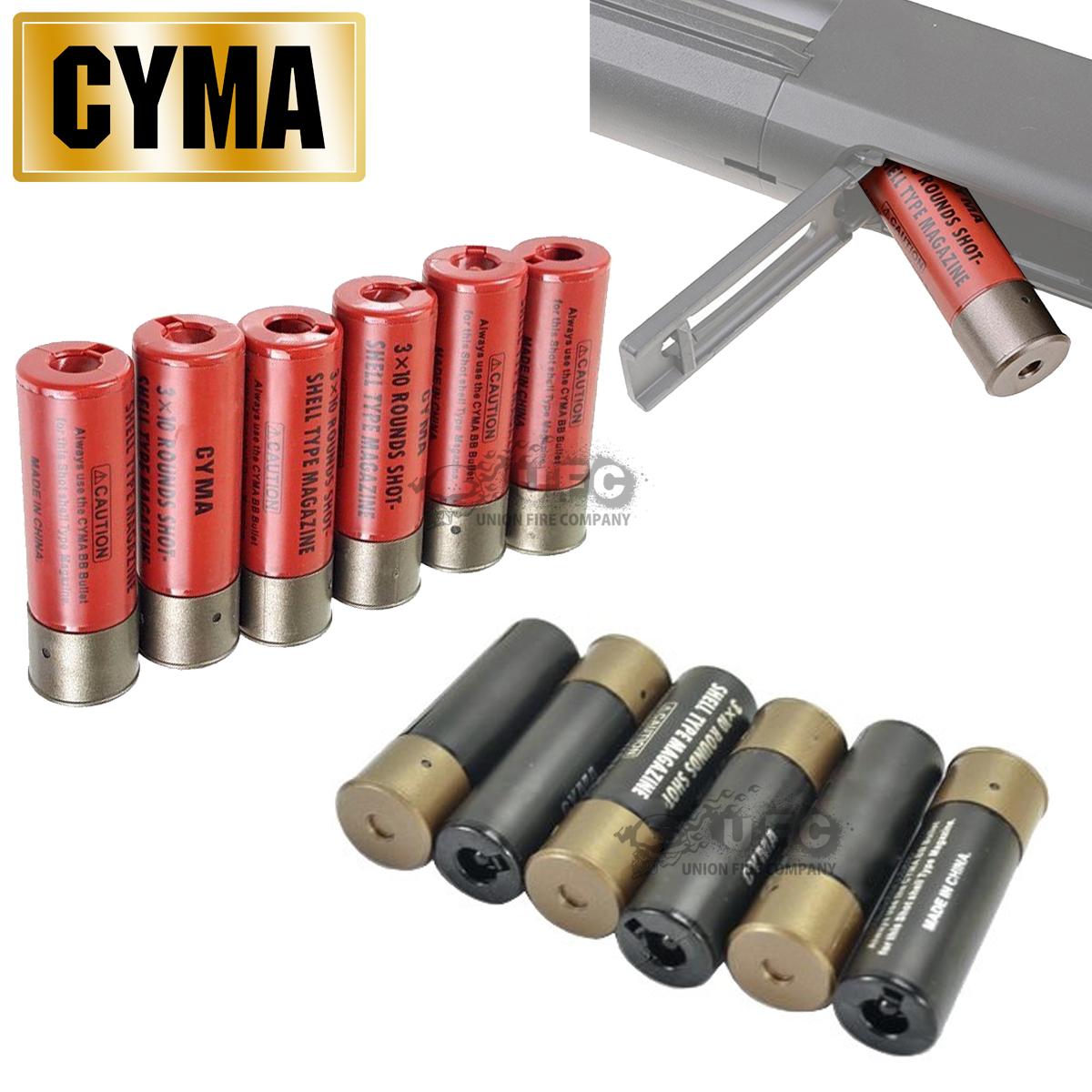 CYMA 30rds ショットシェル型マガジン 6Shell