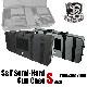 S&T セミハードガンケースV2 Sサイズ Black(700x300x100)